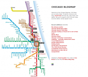 CHICAGO BLOGMAP screenshot