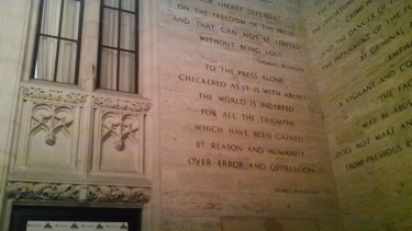 Tribune Tower interior